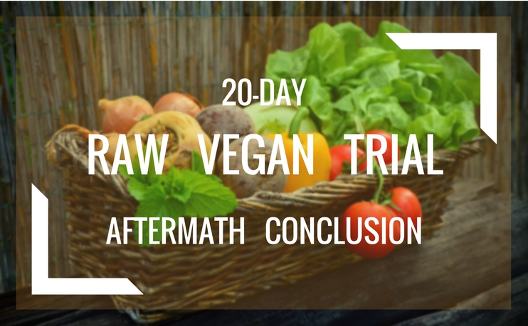 20-Day Raw Vegan Trial - Aftermath Conclusion