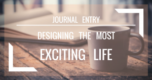 Journal Entry - Creating A Fun Life